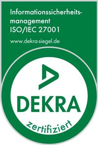 DEKRA Zertifizierung 27001
